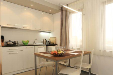 Апартамент под наем с една спалня интериор - Комплекс Вю Апартментс Буджака - Созопол Апартментс