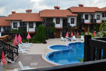 Пърл Апартментс басейн външен и екстериор - Созопол, Буджака - Апартаменти и Студия под наем
