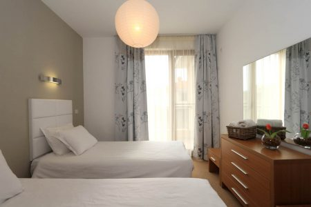 Апартамент под наем с две спални интериор - Комплекс Вю Апартментс Буджака - Созопол Апартментс